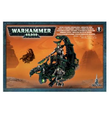 Games Workshop Warhammer 40000 40K Necron Catacomb Command Barge / Annihilation Barge 49-12